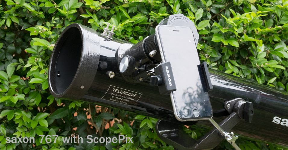 What can you do with a saxon F767 reflector telescope?