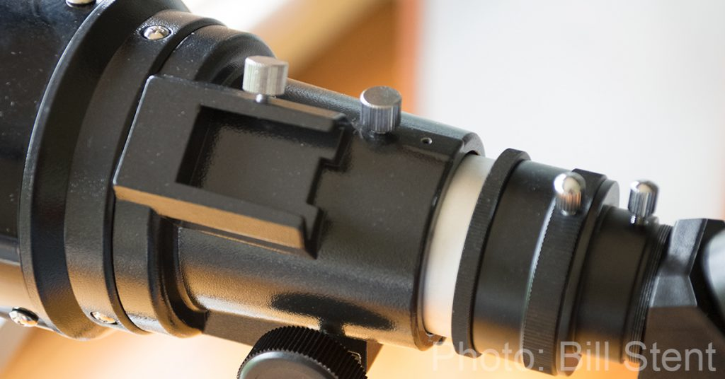 Mounting point for a finderscope