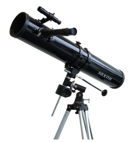 saxon F1149EQ reflector telescope