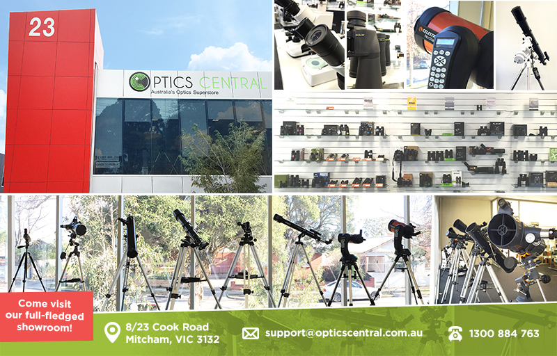 Optics Central Building and showroom